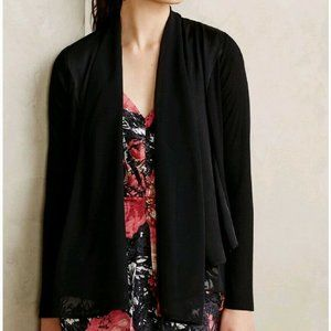 Saturday Sunday Anthro Lola Chiffon Cardigan S NWT